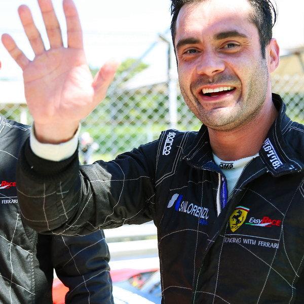 Jaime Melo Ferrari driver